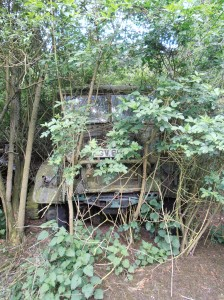 Abandoned WW2 Vehicle at Rattlesden Airfield