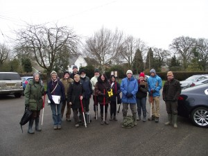Stour Valley Community Archaeology Group members