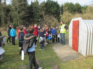 School walk: RAF Martlesham Heath