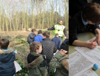 Gorseland Primary explore the 'Friendly Invasion' at Marltesham Heath