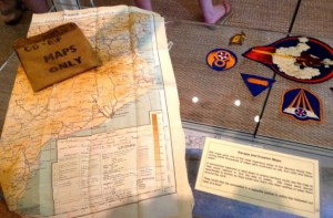 Escape Map display from 2nd AD Memorial Library.