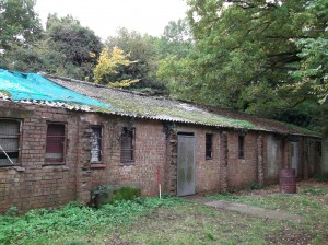 WW2 Showers and Ablutions block
