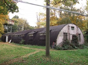 A nissen hut in need of some TLC