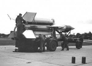 A Cold War Bloodhound Missile