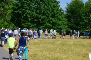 Walkers at Bottisham Hall