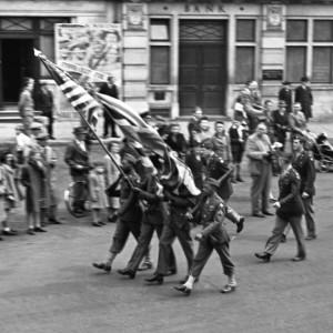 Parade through Stowmarket