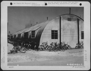 Bikes were favourite form of transport for the GIs. FOLD 3 Image