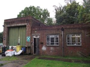 Bushey Hall fire station