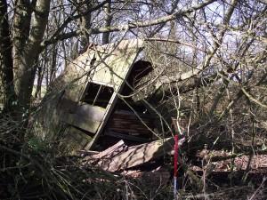 Great Ashfield living quarters site