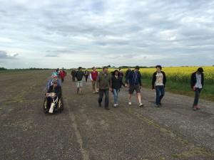 The surviving runway