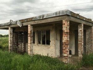 Cold War Guard House and turnstiles