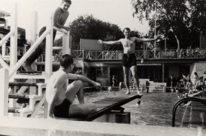 398th personnel at Royston Swimming Pool